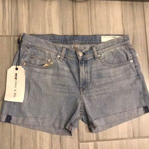 Rag& bone jean shorts size 31
